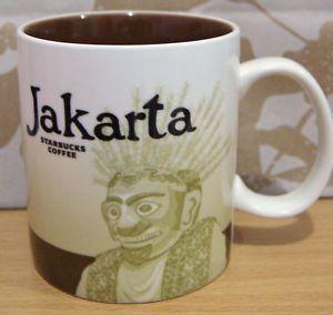 Starbucks Coffee Jakarta Indonesia Global City Mug 16oz