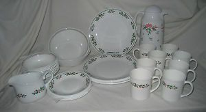 Domestications 12 Days of Christmas Plates Set of 12 China Dishes