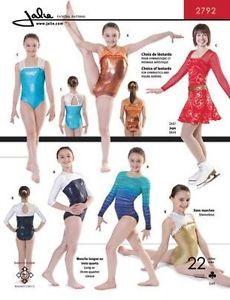 Jalie Gymnastics Leotard Figure Skating Costume Sewing Pattern 2792