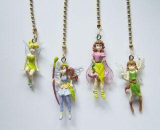 Disney princess ceiling fan disney fairies prilla tinkerbell ceiling fan light pull aloadofball Choice Image