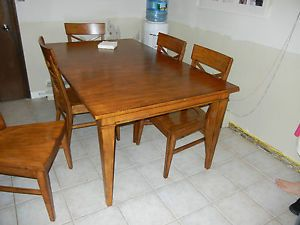 Ethan Allen Tango Christopher Dining Table and 8 Chairs