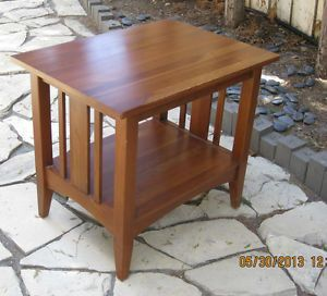 ... Ethan Allen New Impressions Cherry End Table ...