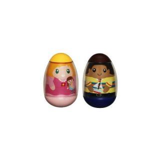 Weebles 24424 Pack Lot 2 Figurines Playskool Hasbro