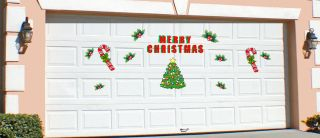 Windsor Christmas Holiday Garage Door Decoration