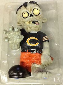 Chicago Bears Zombie Decorative Garden Gnome Figure Statue New NFL