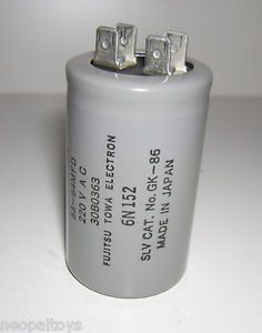 Craftsman Garage Door Opener Motor Starting Capacitor 30B0363
