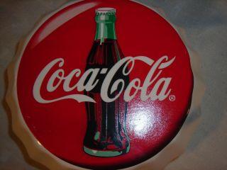 Anchor Hocking Coca Cola Glass Cookie Jar