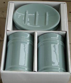 Mainstays Ceramics Bath Accessories 3 Pieces