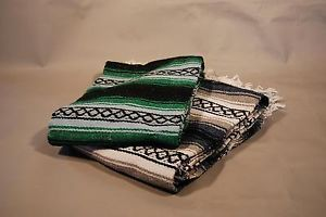 2 Falsa Yoga Blanket Car Throw Mexico Picnic Snuggle Table Cloth Mexican Curtain