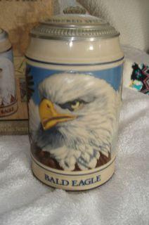 Budweiser Endangered Species Stein Bald Eagle