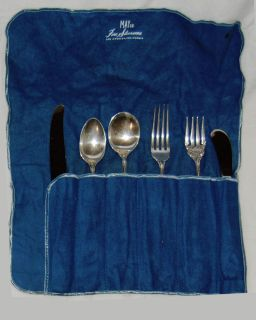 6 PC Wallace Sterling Silver Flatware