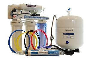 100GPD Reverse Osmosis Water System with Booster Pump Compare to Aquatec RO585P