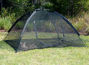 Happy Habitat Pop Up Mesh Tent Outdoor Cat Pet Small Animal Enclosure abg 10672