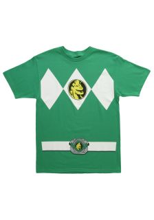 Green Power Ranger T Shirt