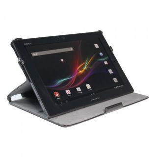 Ultra Slim Tasche FÜR Sony Xperia Z Tablet 10 1 Hülle Case Cover Schutz Schwarz