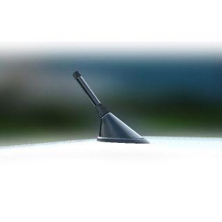 Antenna Aerial Stubby Bee Sting Renault Megane Sport Black Carbon