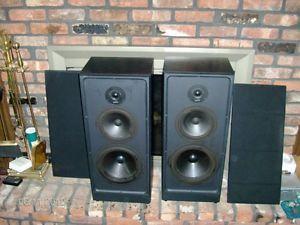 Vintage Polk Audio Speakers S10