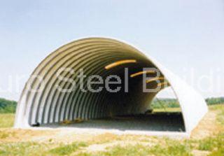 Duro Span Steel Q30X50X14 Metal Building Kits Factory Direct Quonset Farm Barn