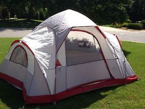 Very Large 5 6 Person Ozark Trail Tent 13ft x 10ft Holds 2 Queen Air Matresses