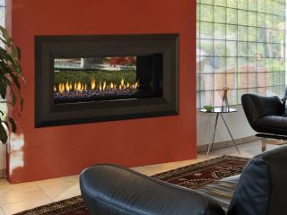 Ventless Glass Gas Fireplace On Popscreen
