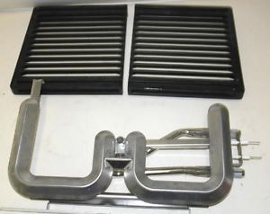Used Jenn Air Grill Cooktop O BBQ Grates Griddle Rocks Single