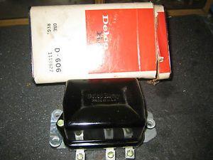 Delco Remy CORVETTE1118827E 6VN7E D606 Voltage Regulator for Generators