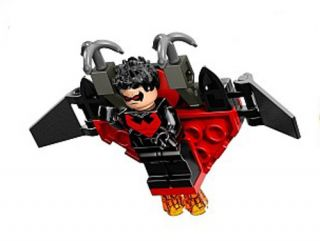 Lego Super Heroes DC New Nightwing Minifig Glider 2014 76011 Man Bat Batman
