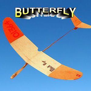 """Model Airplane Plans 20"""" Hand Launch Glider Full Size Printed Plan"""