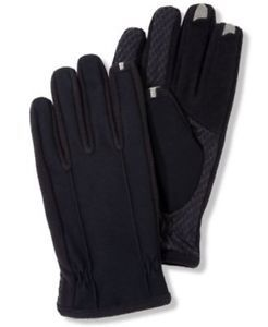 Mens Isotoner Smart Touch Gloves