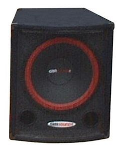 "New 15"" PA Subwoofer Concert Speaker Fifteen inch Bass w Box Enclosure DJ Sound"