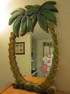 Palm Tree Tropical Mirror Wall Art Home Decor Beach Decor