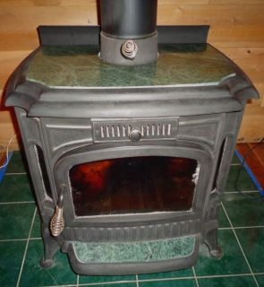 """1985 """"The Earth Stove"""" with Green Marble for Repair or Parts"""