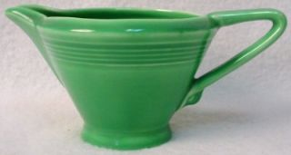 Homer Laughlin China Harlequin Light Green Pattern Creamer Cream Pitcher Jug