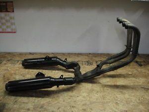 88 Honda CBR1000 CBR 1000 Hurricane Exhaust Mufflers E4A