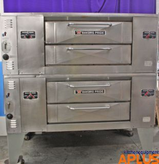 Bakers Pride Pizza Oven Double Stack Gas Model DS 805