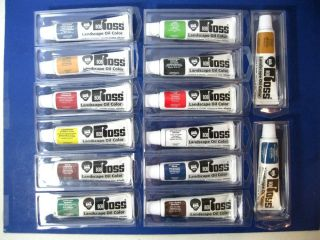 14 Bob Ross Landscape Oil Color Paints 37ml ea New Assorted Joy of Painting