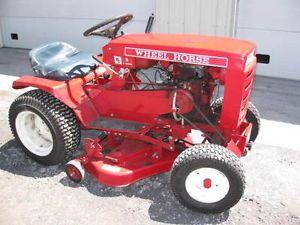 Wheel Horse Lawn Mower Garden Tractor 5 Speed