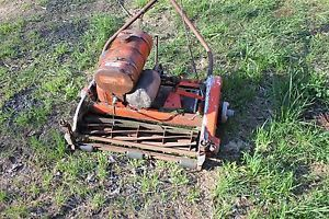 Antique Vintage Jacobsen Lawnmower Reel Mower Roller Golf Course Mower Lawn