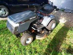 """Craftsman LT4000 12 5 HP 6 Speed 42"""" Cut Riding Lawn Mower Garden Tractor"""