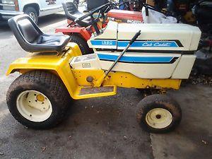 Cub Cadet International 1250 Hydrostatic Riding Mower Lawn Garden Tractor 12hp