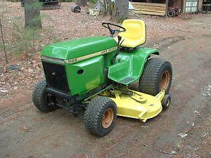 John Deere 400 Garden Tractor with Mower Deck John Deere Lawn Tractor