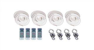 Quad Multi Zone Ductless Mini Split Air Conditioner Heat Pump 4 x 12 000 BTU