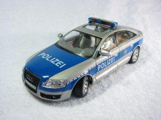 Audi A6 Police Cararama Diecast Car Model 1 24 1 24