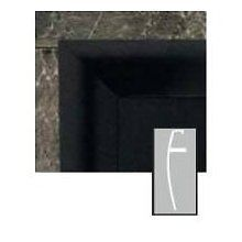 """Monessen Majestic Hearth Fireplace 32"""" Curved Black Face Trim BLT32C New"""
