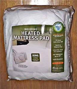 Awesomely Warm King Size Heated Electric Mattress Pad