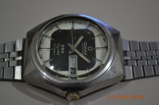 Vintage OMAX Swiss Men Watch Running Automatic ETA 2879 Cal 2
