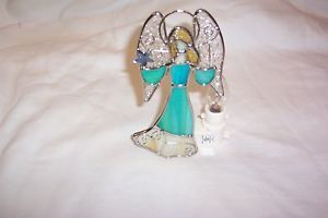 Stained Glass Angel Night Light New 9009 42