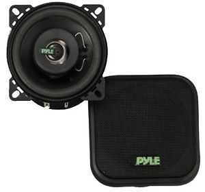 """Pair 4"""" inch Quality 2 Way Coaxial Car Audio Stereo Radio Replacement Speakers"""