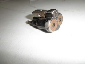 Vintage Johnson Evinrude Outboard Motor Double Line Gas Tank Fitting 2 Line Tank