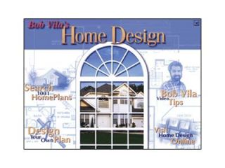 Bob Vila's Home Design PC CD Design Draft Floor Plans House Building Reference
